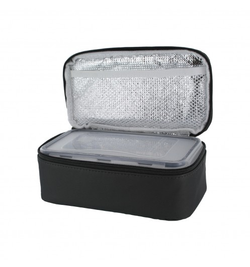 Lunch box isotherme iris grise sac boite deco et - Sac lunch box isotherme ...