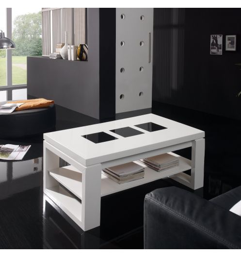 table basse relevable bois blanche deco et saveurs. Black Bedroom Furniture Sets. Home Design Ideas