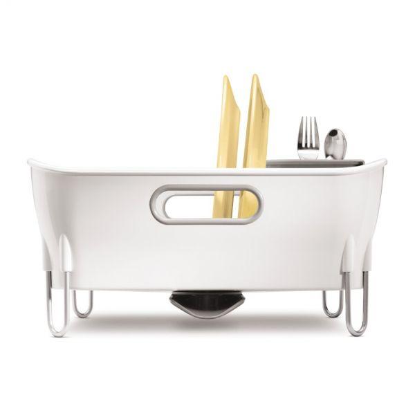 Egouttoir vaisselle compact simplehuman rangement - Petit egouttoir vaisselle ...