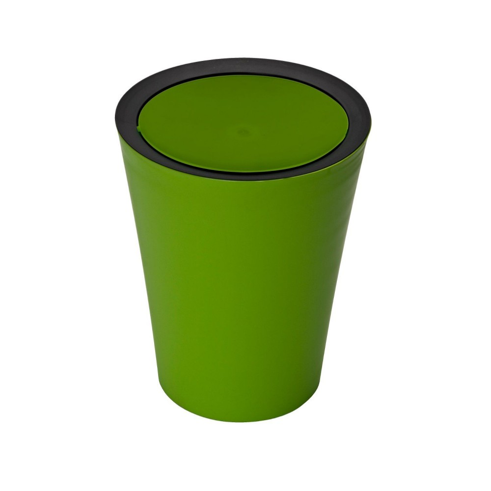 Salle de bain verte et noire for Accessoire decoration salle de bain