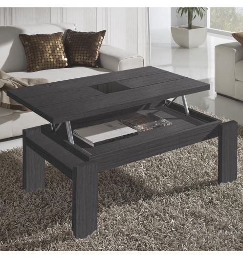 table basse relevable mobilier de france. Black Bedroom Furniture Sets. Home Design Ideas