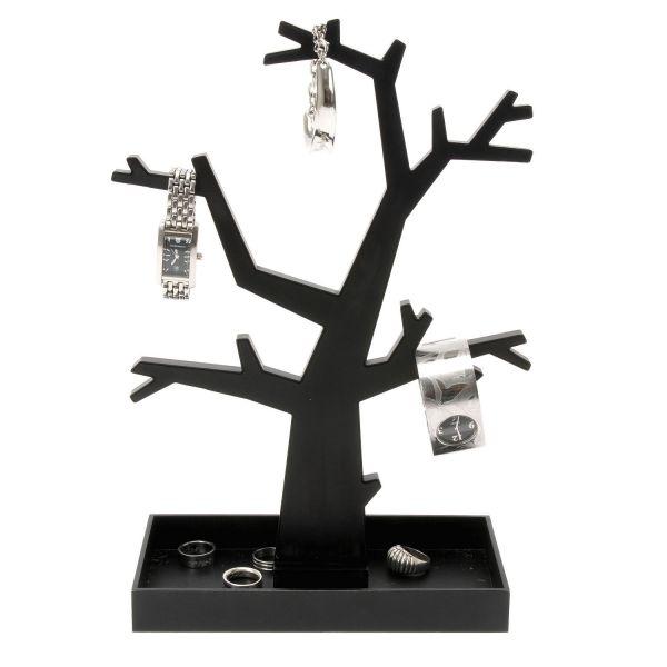 arbre bijoux noir present time porte bijoux. Black Bedroom Furniture Sets. Home Design Ideas