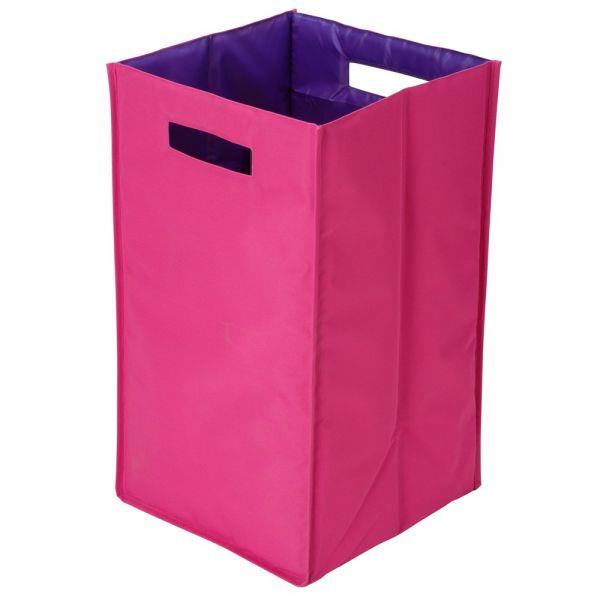 panier linge bicolore rose et violet panier linge. Black Bedroom Furniture Sets. Home Design Ideas