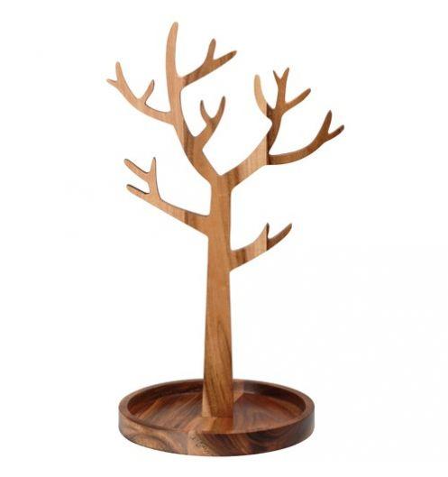 Salon Noir Blanc Gris Deco :  arbre  Porte bijoux arbre La chaise longue  support bijoux
