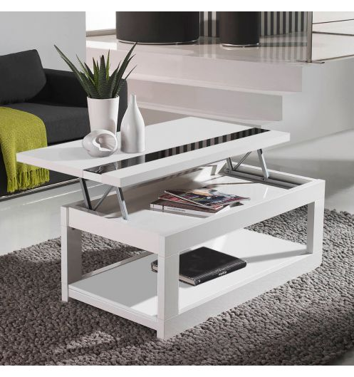 table basse relevable 60 cm. Black Bedroom Furniture Sets. Home Design Ideas
