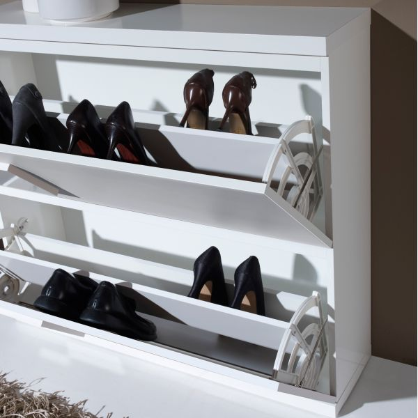Meubles chaussures 18 paires - Meuble chaussures 24 paires ...
