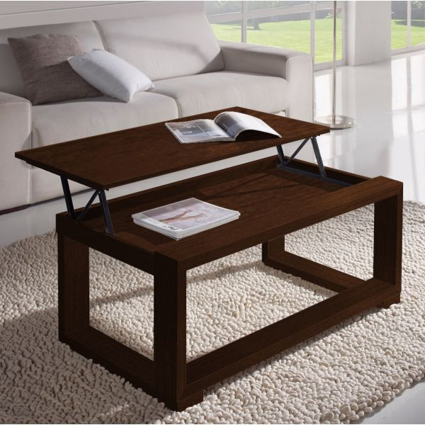 Table basse relevable wenge - Table basse wenge but ...