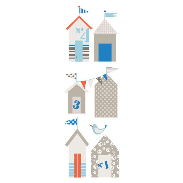 Deco et saveurs for Plage stickers muraux
