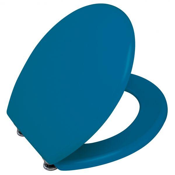 abattant wc bleu lunette de toilette wenko. Black Bedroom Furniture Sets. Home Design Ideas