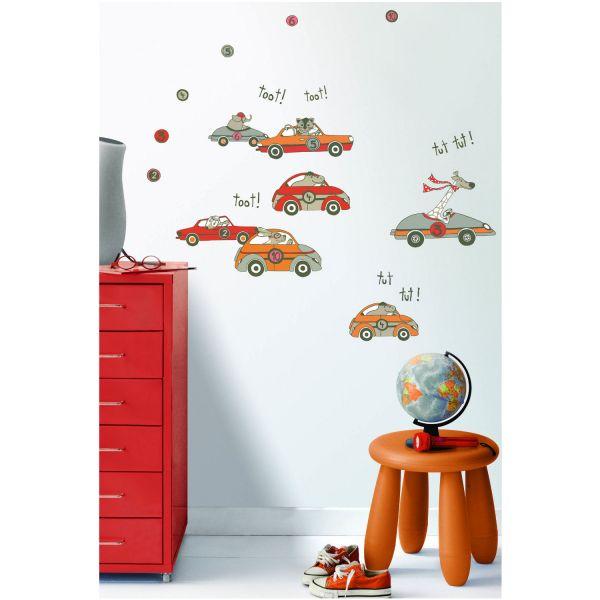 Deco et saveurs - Deco chambre enfant voiture ...