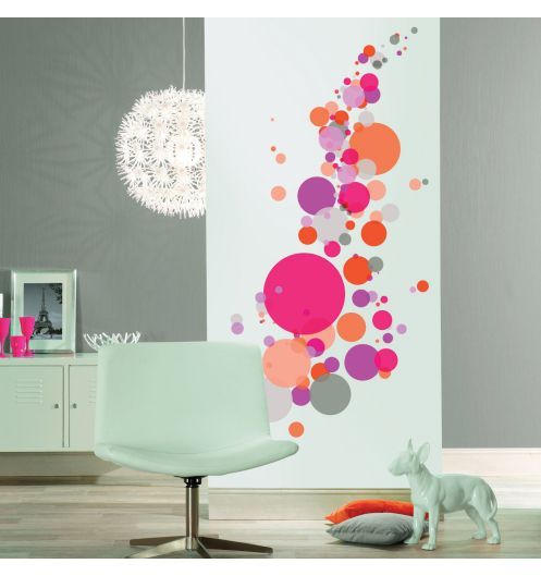 sticker deco murale table de lit. Black Bedroom Furniture Sets. Home Design Ideas