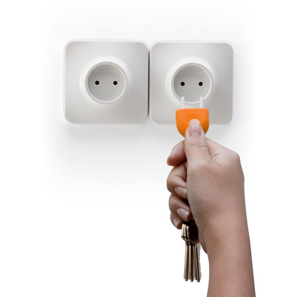 accroche cl 233 mural qualy unplug orange accroche cl 233 design
