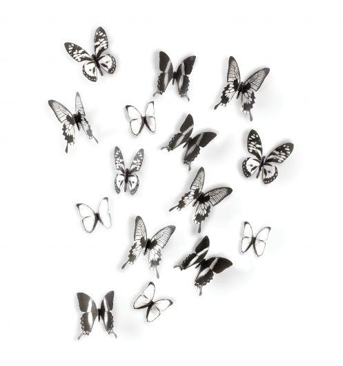 D coration murale papillon chrysalis umbra d co papillon - Umbra deco murale ...