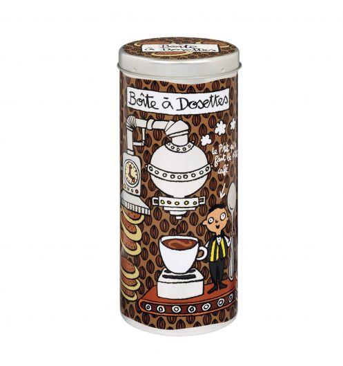 boite dosettes de caf derri re la porte la boite dosettes pictures to pin on pinterest. Black Bedroom Furniture Sets. Home Design Ideas