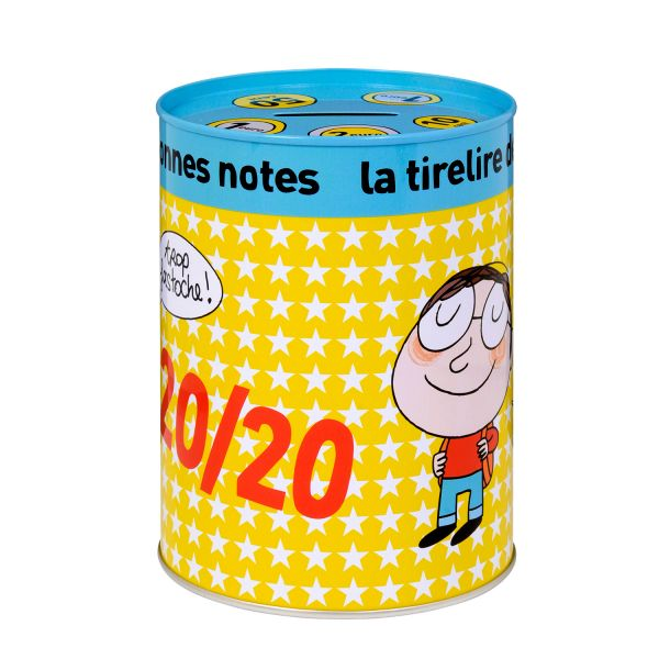 Tirelire bonnes notes tirelire metal derri re la porte for Decoration derriere la porte