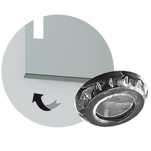 Carte da parati per stanzette for Miroir sans reflet
