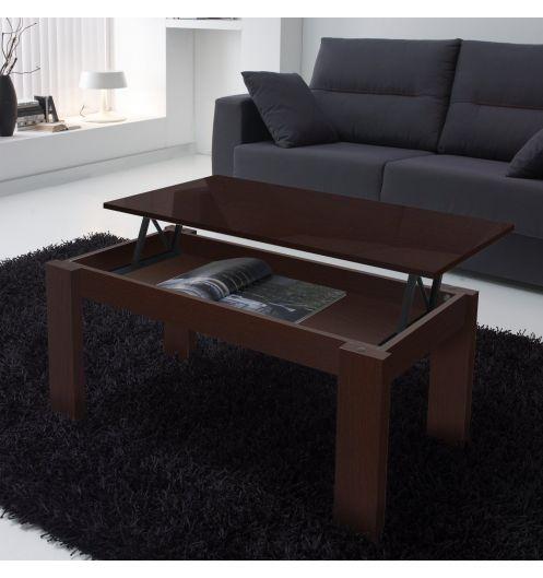 Ebay - Table basse wenge rectangulaire ...