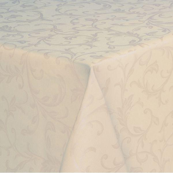 nappe enduite beige florencia nappe coton polyester. Black Bedroom Furniture Sets. Home Design Ideas