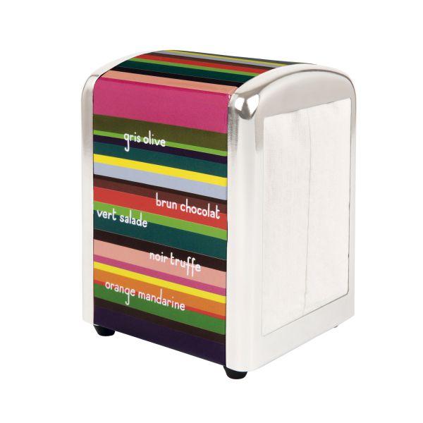 distributeur serviette papier rangement cuisine derri re la porte. Black Bedroom Furniture Sets. Home Design Ideas