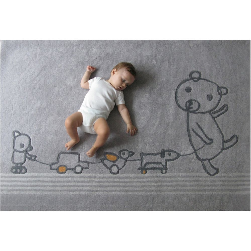 Tapis bébé design   art for kids