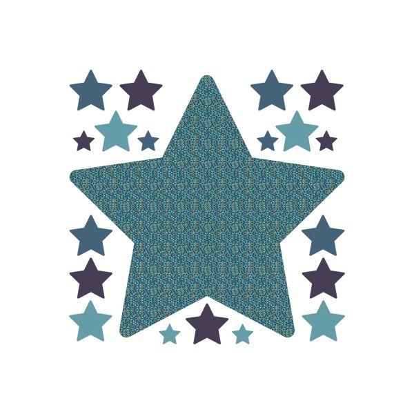 sticker enfant toile stickers enfant bleu art for kids. Black Bedroom Furniture Sets. Home Design Ideas