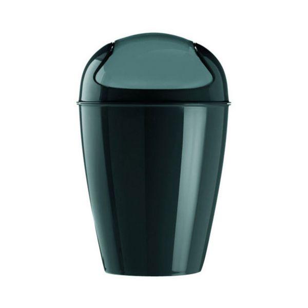 Poubelle salle de bain noire koziol for Mini poubelle de salle de bain