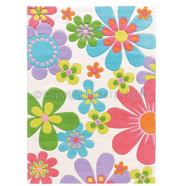 tapis arte espina splash fleurs boutique decoration With tapis chambre bébé avec livraison fleurs 10 euros