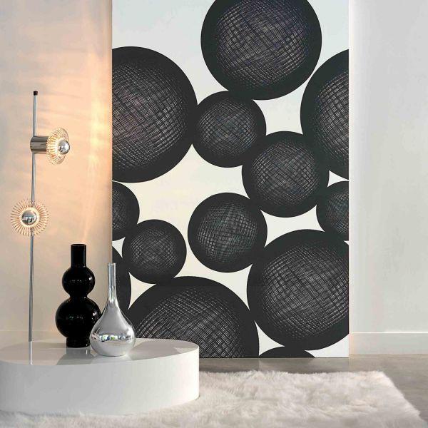 decoration murale noir et blanc