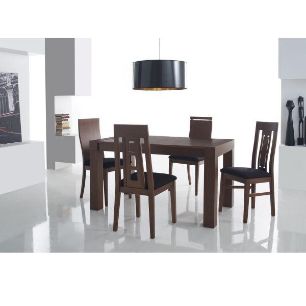 Chaise salle manger salle manger for Salle manger en bois