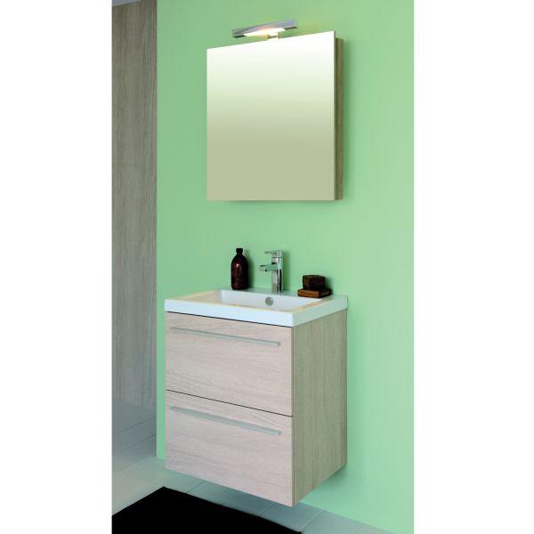 Les concepteurs artistiques meuble salle de bain sanijura for Prix meuble salle de bain