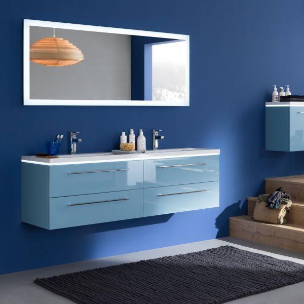 miroir salle de bain led luz sanijura 100 cm. Black Bedroom Furniture Sets. Home Design Ideas
