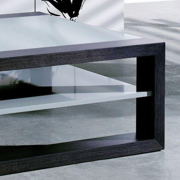 table basse acrylique grise. Black Bedroom Furniture Sets. Home Design Ideas