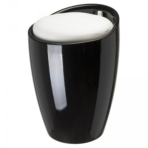 tabouret pouf espace de rangement. Black Bedroom Furniture Sets. Home Design Ideas
