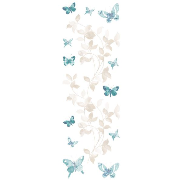 sticker mural papillon stickers animaux. Black Bedroom Furniture Sets. Home Design Ideas