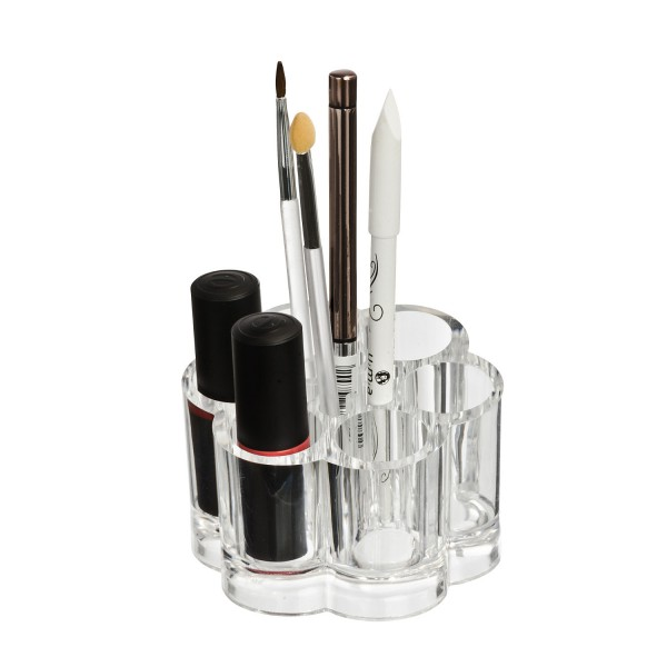 Rangement maquillage rangement make up original - Rangement pinceaux maquillage ...