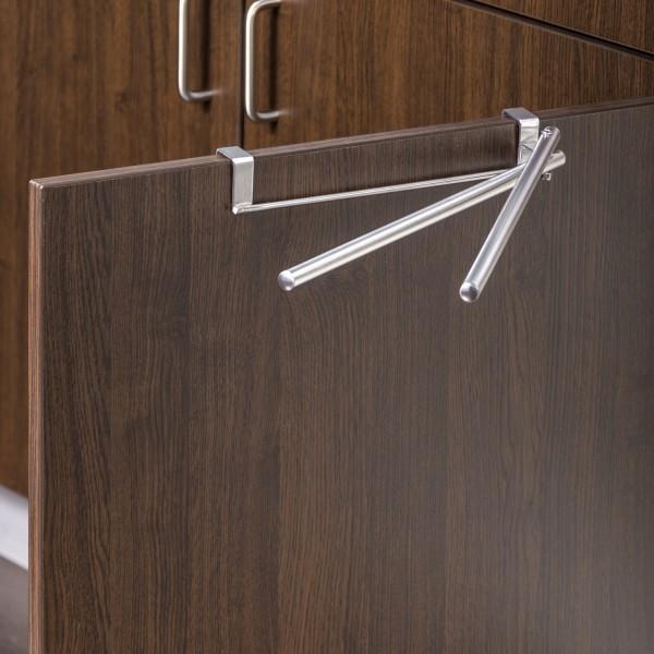 accroche torchon double porte torchon design wenko. Black Bedroom Furniture Sets. Home Design Ideas