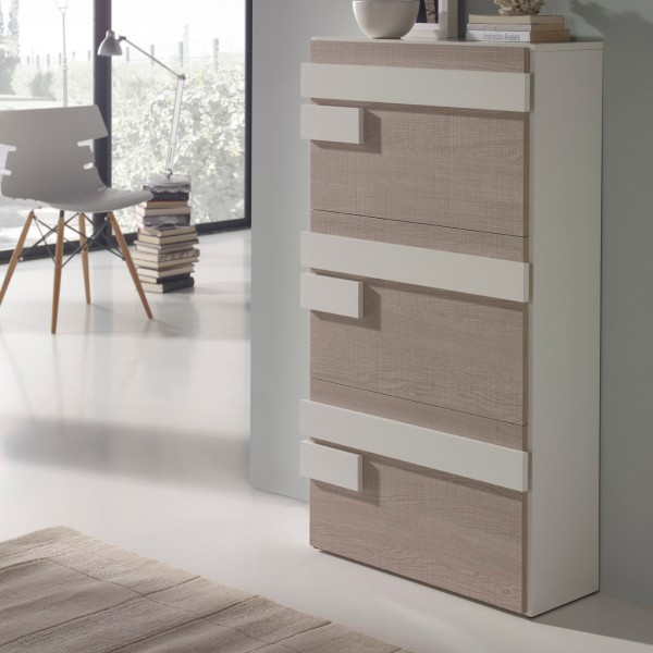 meuble chaussure beige. Black Bedroom Furniture Sets. Home Design Ideas