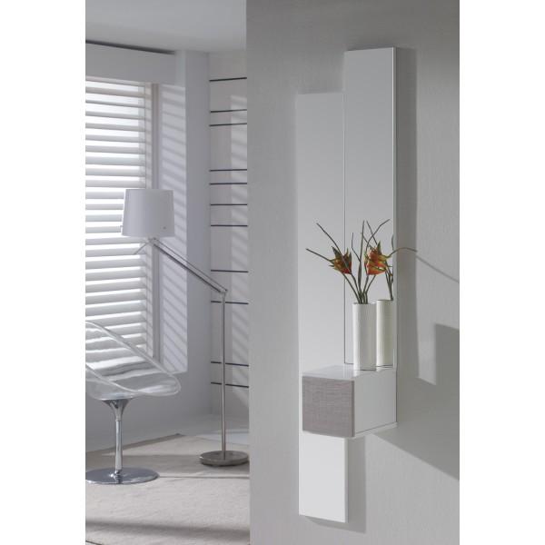 meuble d 39 entr e et miroirs tiroir design concept. Black Bedroom Furniture Sets. Home Design Ideas