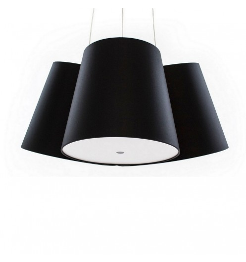 Lustre design multicolore ou unicolore fraumaier for Luminaire triple suspension