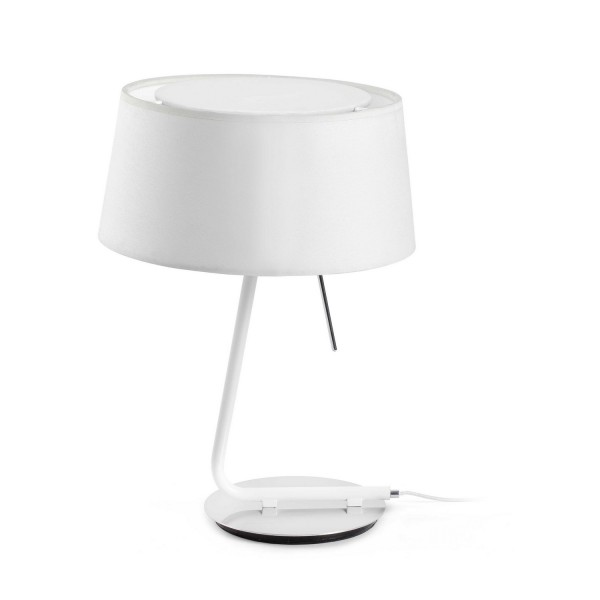 lampe design blanche luminaire design faro. Black Bedroom Furniture Sets. Home Design Ideas