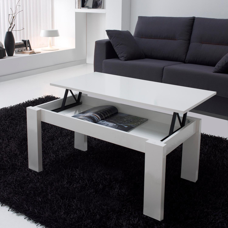 la table basse relevable r volutionne le salon d co et. Black Bedroom Furniture Sets. Home Design Ideas