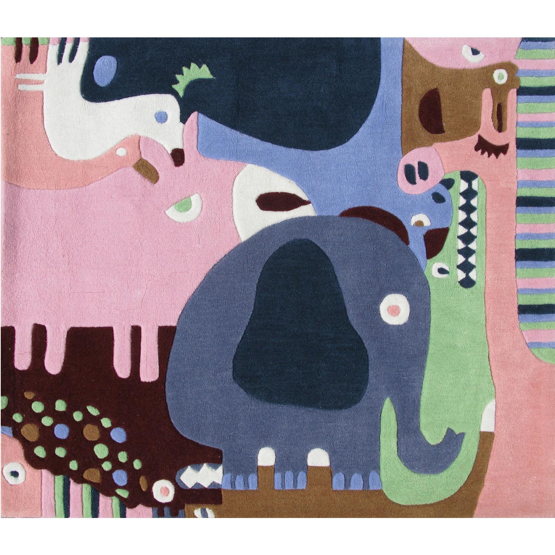 tapis enfant puzzle animaux d co et saveurs. Black Bedroom Furniture Sets. Home Design Ideas