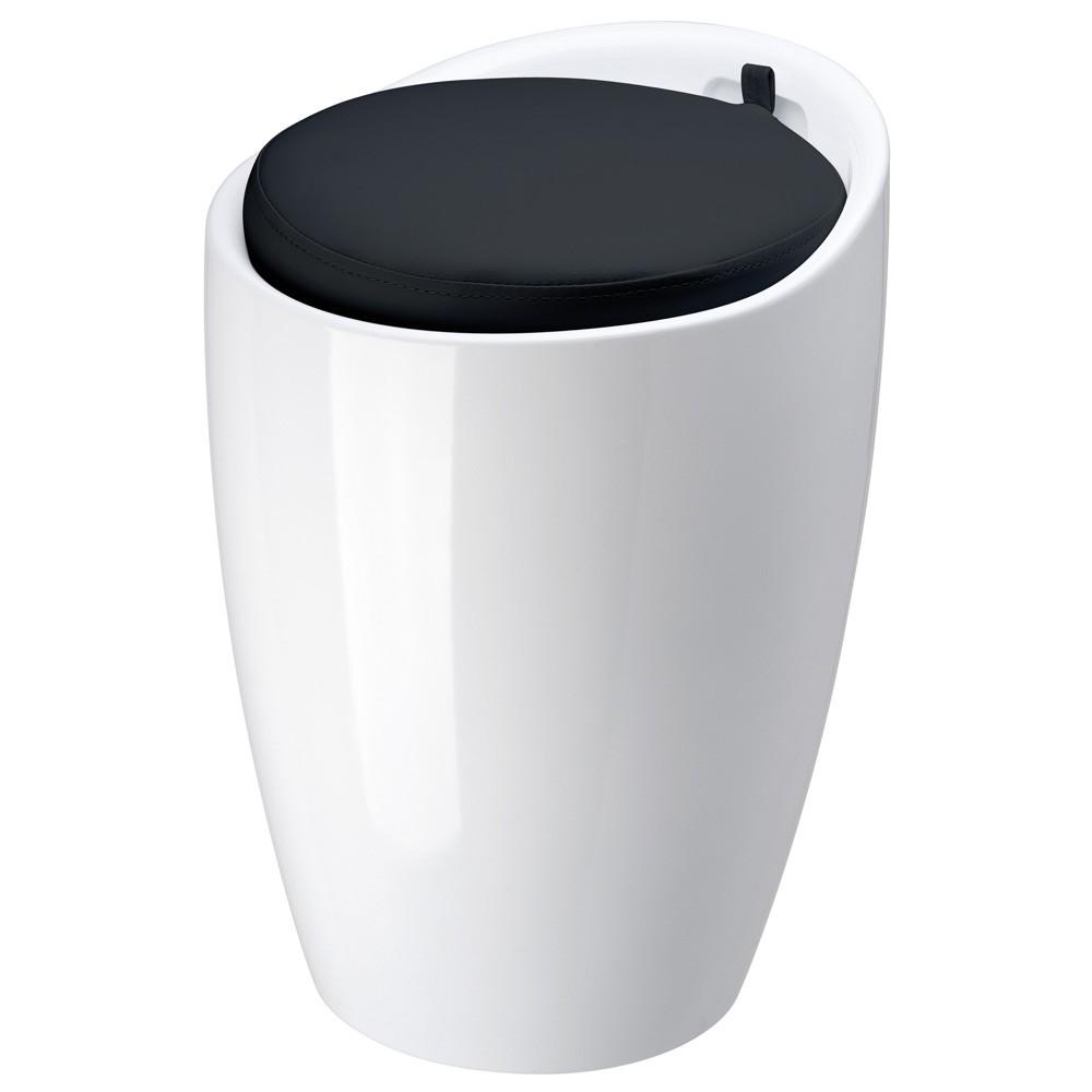 pouf de rangement ikea pouf poire relax coloris noir u u. Black Bedroom Furniture Sets. Home Design Ideas