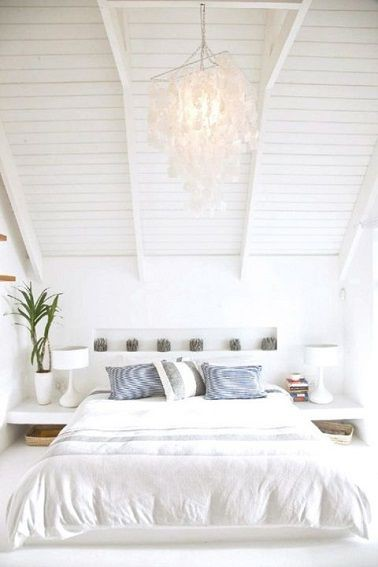 Nos conseils pour une décoration tout en blanc  Déco et saveurs