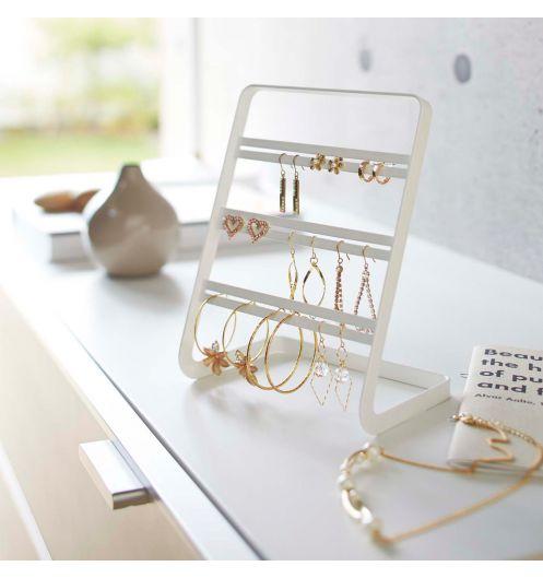 Le porte bijoux un classique revisit d co et saveurs - Comment fabriquer un porte boucle d oreille ...