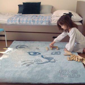 tapis-enfant-chat-bleu-art-for-kids