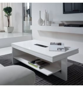 table basse-relevable-bois-blanche-design