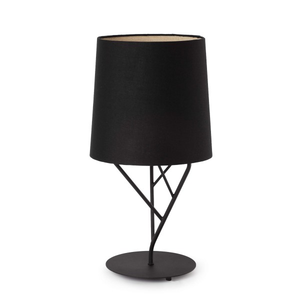 lampe de chevet noire design naturel lampes faro. Black Bedroom Furniture Sets. Home Design Ideas