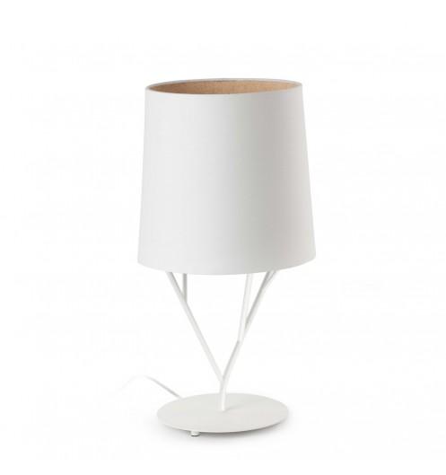Lampe De Chevet Blanche Design Luminaire Original Faro