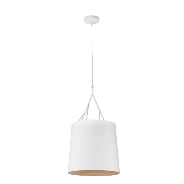 suspension blanche originale et naturelle luminaire. Black Bedroom Furniture Sets. Home Design Ideas